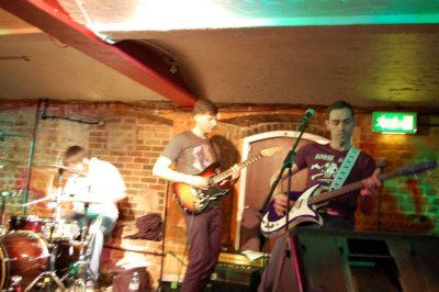 Horse Rock'S first gig at the Cellar Bar